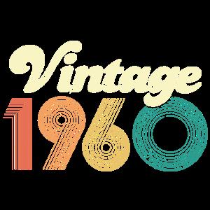 Vintage 1960 - 60. Geburtstag - Sechzig Jahre
