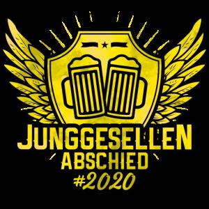 Jga 2020 junggesellenabschied wappen
