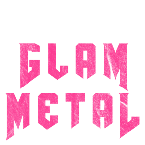I Love Glam Metal | 80er Metal Geschenk Hair Metal