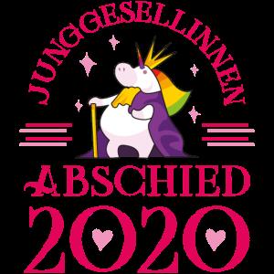 Einhorn Junggesellinnen abschied 2020