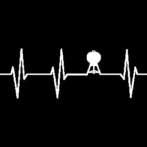 Grillen Herzschlag Grill