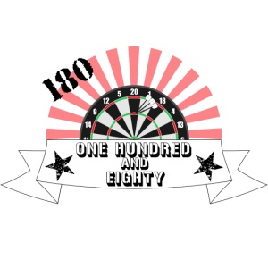 One hundred and eighty Dart Darts