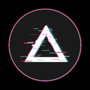 Dreieck Glitched