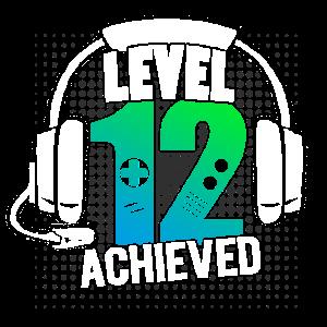Gaming 12. Geburtstag Gamer Geschenk