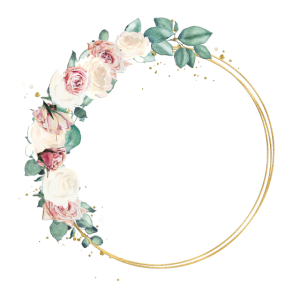 New roses wreath 1