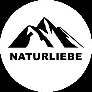Naturliebe Berg Logo Natur Berge Geschenk Liebe