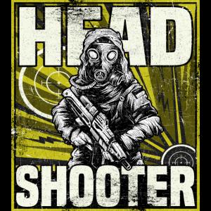 headshot gaming shirt shooter game