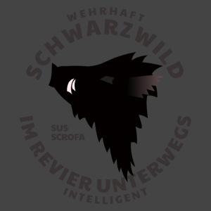 """""""Schwarzwild im Revier""""-Shirt für Sauenjäger"""