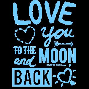 Love You Valentinstag Geschenk für Sie und Ihn