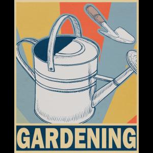 Gärtnerei Garten Schrebergarten Vintage Geschenk