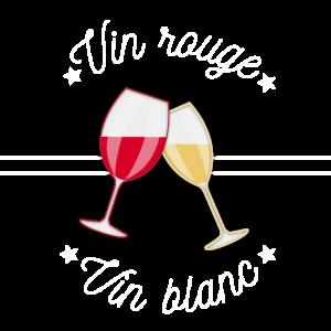 Rotwein Weißwein - Originaler Geschenkideen-Aperitif!