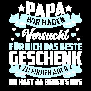 Lustig Papa Vater Kind Baby Vatertag Geschenk Süß