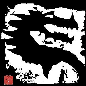 Weisser Drache, white Dragon