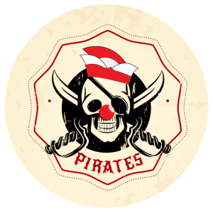 Piraten Geschenk Karneval