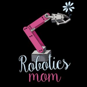 Robotics Mom Flower Art