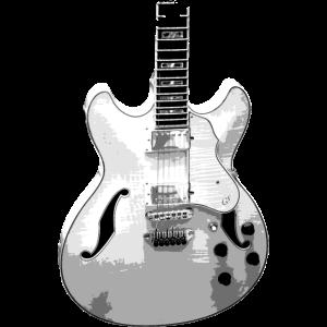 Jazzgitarre (vertikal)