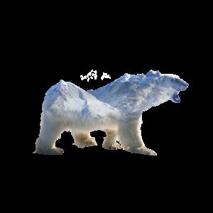 Eisbaer Silhouette Naturschutz Klima