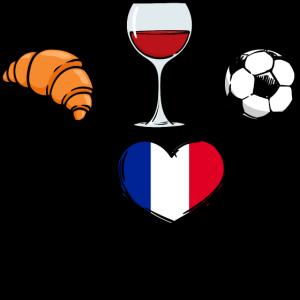 Frankreich Fussballmannschaft Fussballfan Team