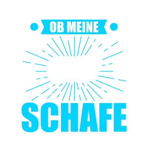 Schaf Schafe Schäfer Geschenk