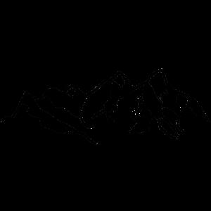Berge Alpen Bergsteigen