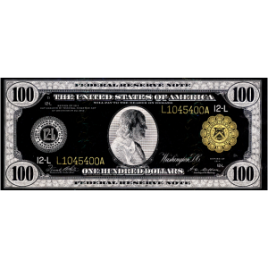 100 dollar 1914