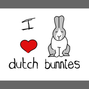 I Love Dutch Bunnies