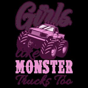 Monster Truck Mädchen