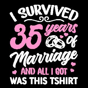 Valentinstag Ehepaar 35 Jahre Geschenk