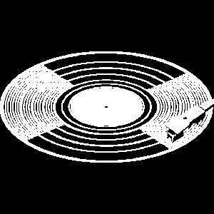 Schallplatte mit Stylus