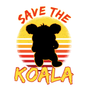 Rette den Koala Save The Koala Bär