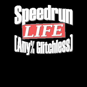 Speedrun Gamer Any% Glitchless Gaming Streaming
