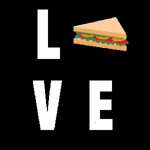 Sandwich Baguette Schinken Käse Tomate Gurke Sub
