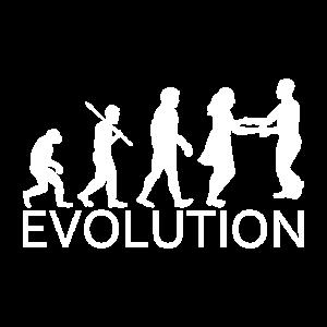 Foxtrott Paar Tanzen Musik Evolution Geschenk
