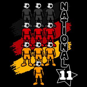 Deutschland Fussball Fussballfan Nationalteam Fan