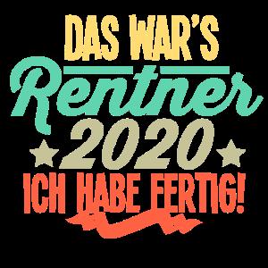 Rentner 2020