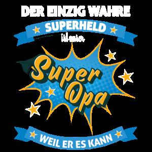 Super Opa Superheld Grossvater