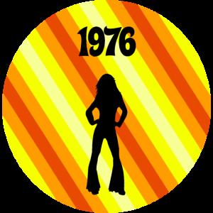 Disco Retro Design 1976