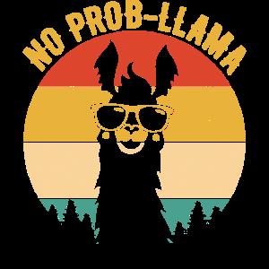 NO PROB-LLAMA Shirts Vintage Llama Alpaca
