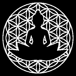 Buddha Blumes des Lebens