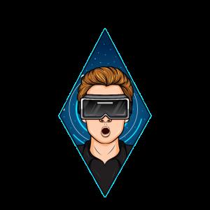 Futuristisches Spielspiel Geschenk der virtuellen Realität