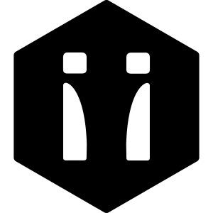 Logo schwarz 2-farbig