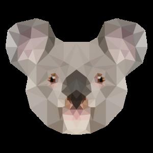 Low Poly Koala