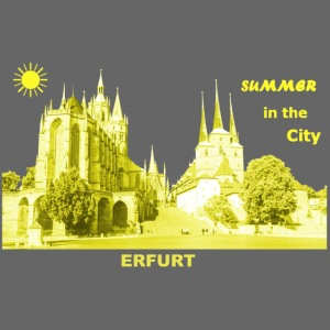 Summer Erfurt City Thüringen Sommer Dom