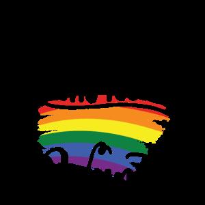 LGBTQ Regenbogen | Pride Schwul Lesbisch Geschenke