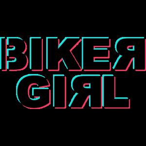 Biker Girl Glitch