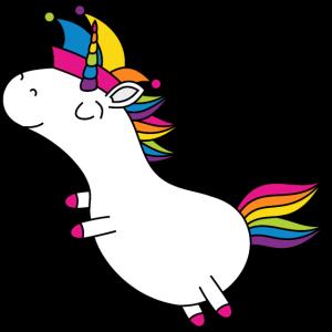 Einhorn Fasching Narrenkappe Regenbogen Party LGBT
