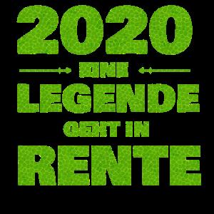 2020 eine Legende geht in Rente