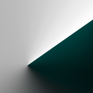Grüner Konus-Verlauf