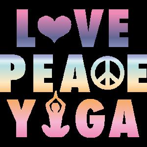 Yoga - Love, Peace, Yoga