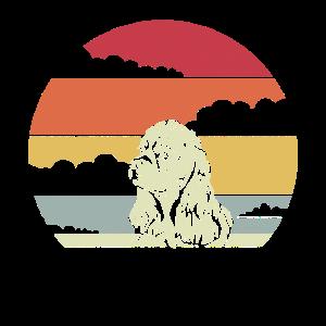 Amerikanischer Cocker Spaniel Retro Vintage